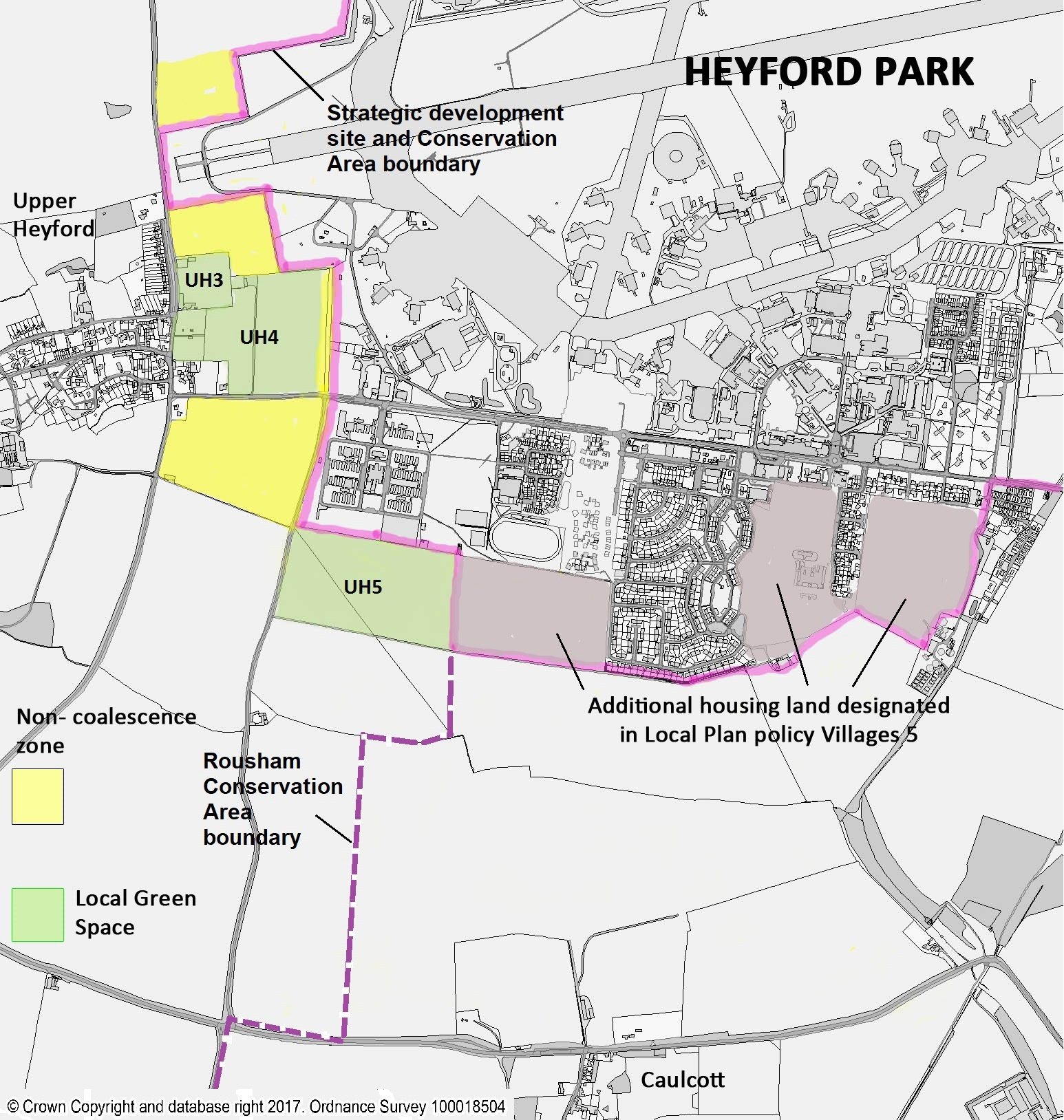 fig 18 policy map for heyford parkjpg