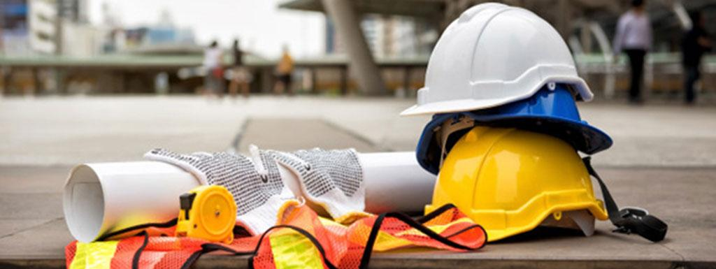 image of building site hard hats
