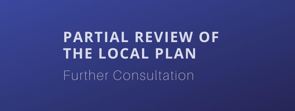 Partial Review of the Local Plan